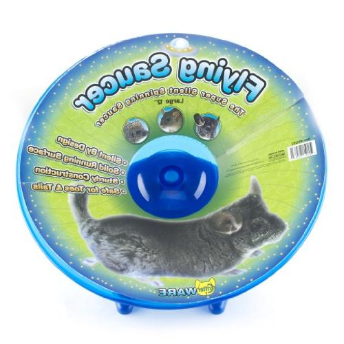 flying saucer exercise wheel pets