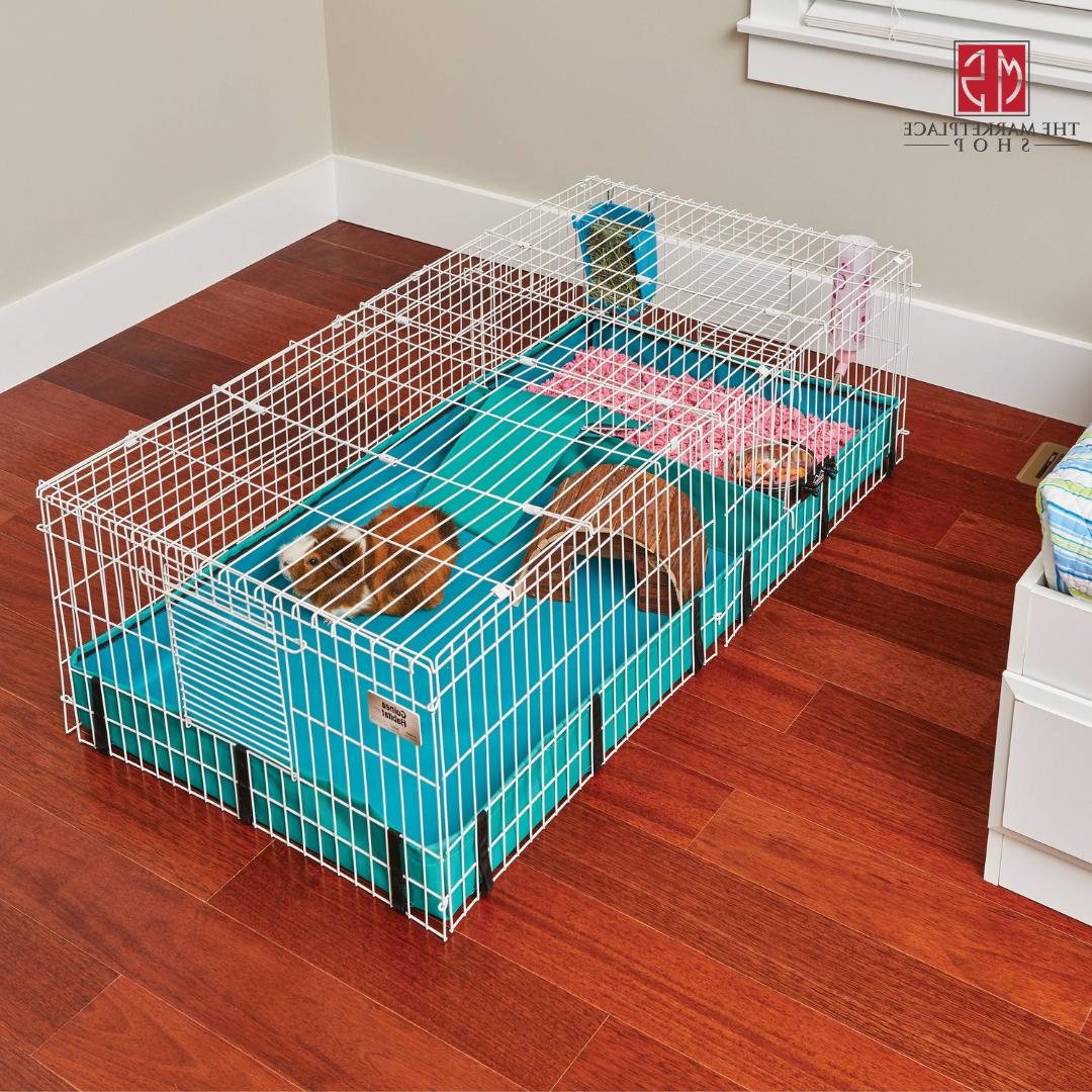 Guinea Pig Hamster Cage Pets Large Interactive Habitat Small