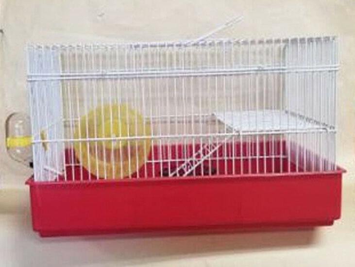h810 2 level hamster cage comes