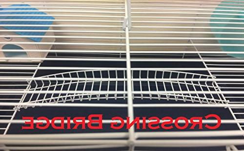 """New Habitat Rodent Mice Cage Crossing With 5.5"""""""