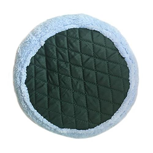 BWOGUE Bed,Round Velvet Warm Mat Pad for Hamster/Hedgehog/Squirrel/Guinea Pig/Rats and Other Small