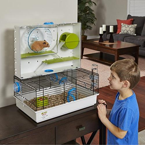 "MidWest Homes for Pets Hamster Cage Arcade Hamster Home | 18.11"" 21.26"""