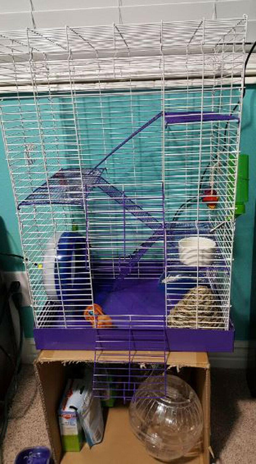 Hamster Pig Rat Cages Supplies New