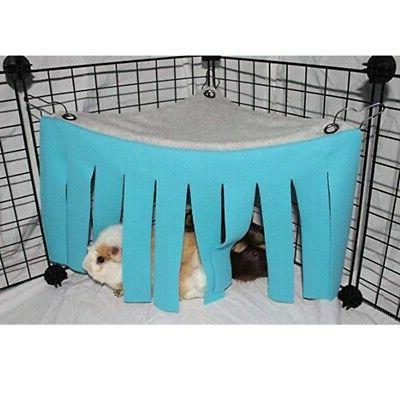 Pets Hamster Cage Hanging Bed Nest Hideout Hideaway HOT