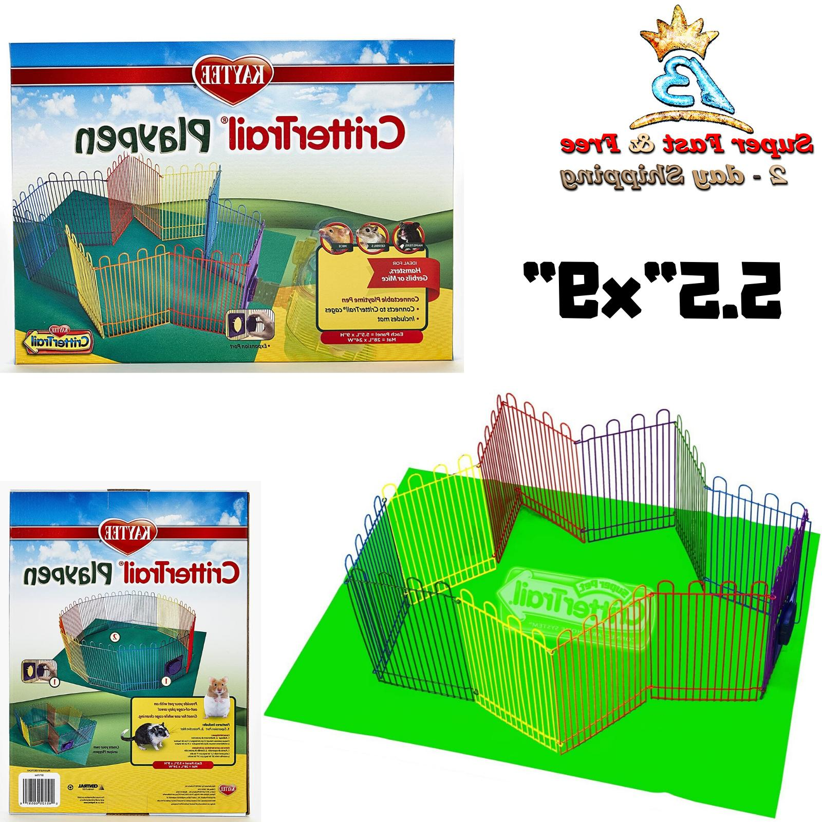 Hamster Cages And Habitats Pet Playpen Mat Cheap Rabbit Cage