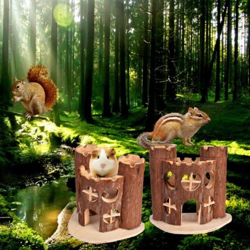 Awtang Castle House Pet for Exercise Mice Toy