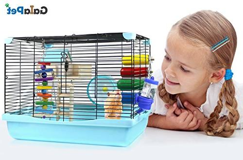 GalaPet Hamster and Pig Cage Habitat Small with Accessories