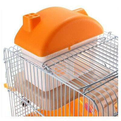 Hamster Pet Cage Levels Wheel