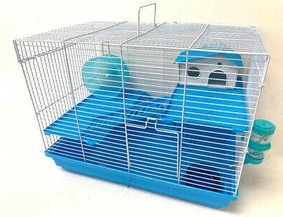 hamster habitat cage 3 levels home house