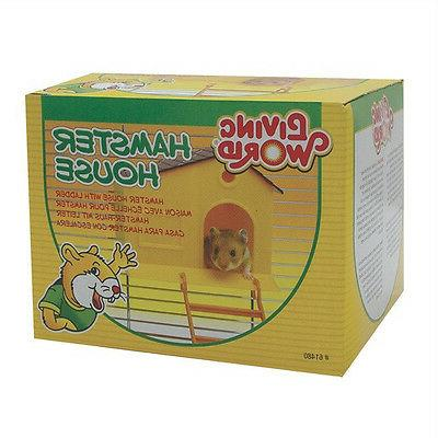 hamster house w step ladder small animal