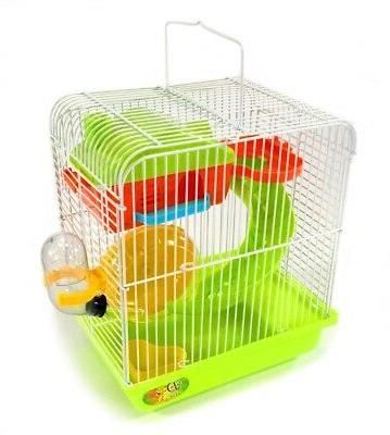 hamster rodent cage habitat playhouse