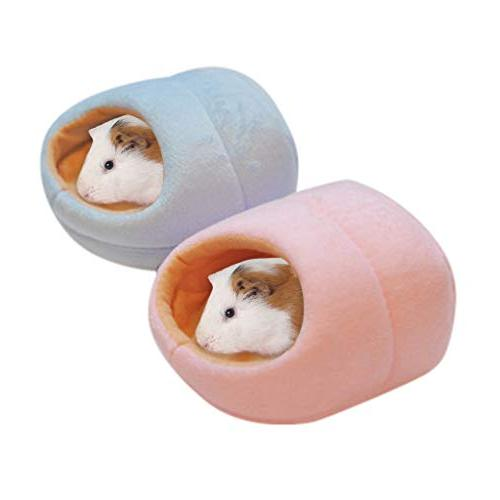 Gotian Small Pet House Sleeping Lovely Warm Bed Rabbit Nest House Tent