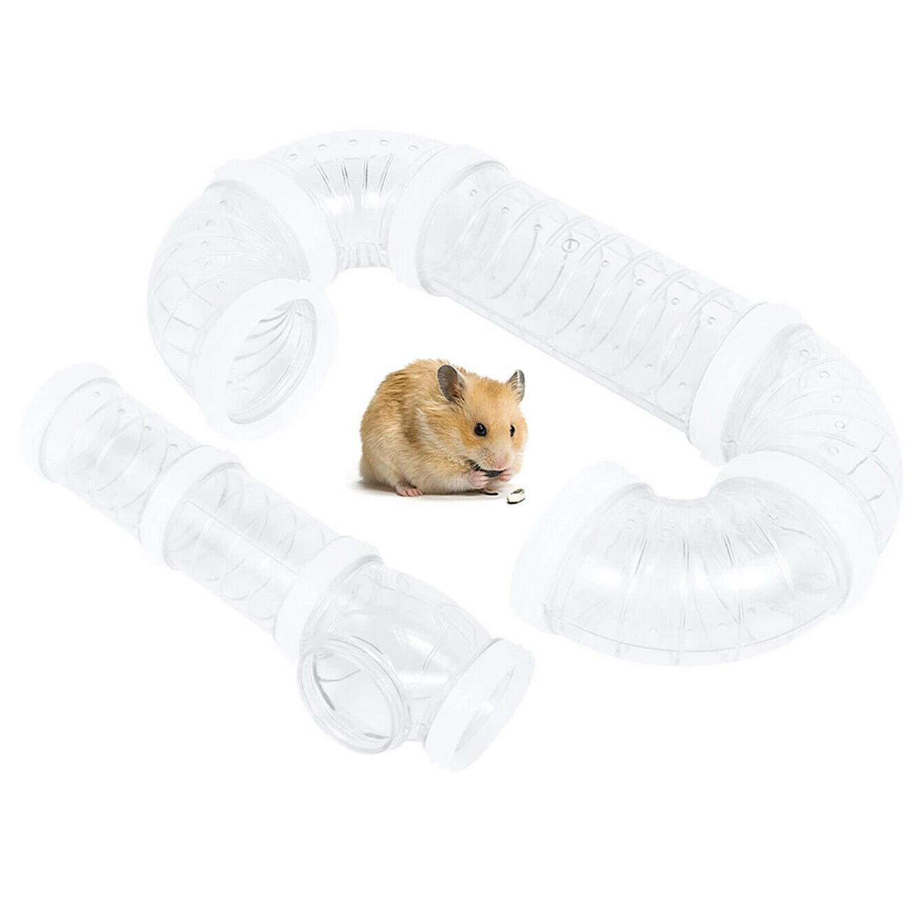 hamster tunnel toy and diy hamster cage