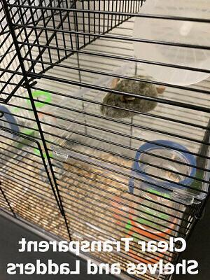 5 Level High Tower Hamster Habitat Rat Cage