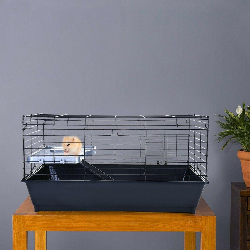 Homey Hamster Ferret Cage Crate w/Tray US