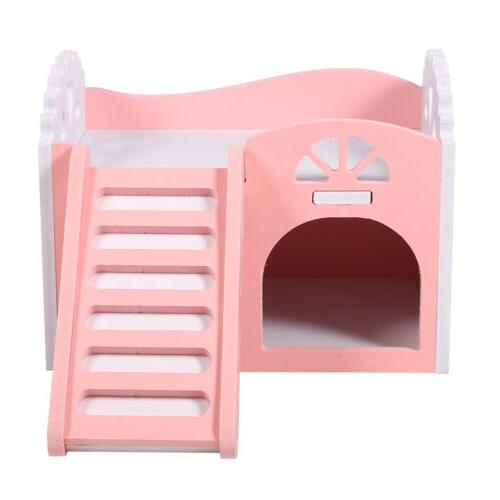 House Small Pet Hedgehog Guinea W/Slide