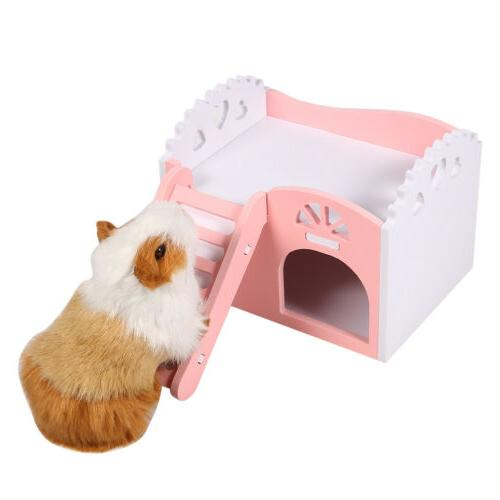 House Cage Small Pet Hamster Hedgehog Guinea W/Slide
