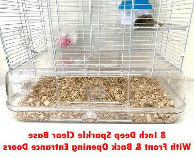 3 Cage Guinea Pig Habitat Rodent Mice Hamster