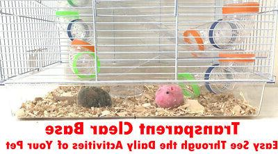 Large Twin Gerbil Cage