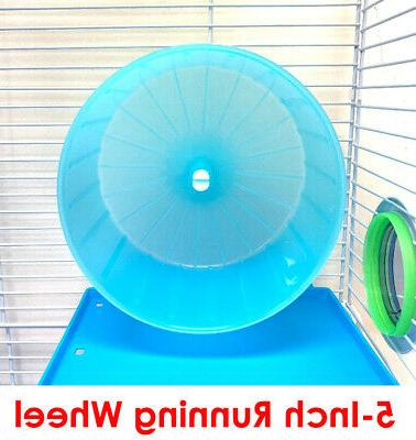 5-Floor Large Twin Tower With Cross Tunnel Hamster Rat 159