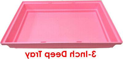 Large Pink Hamster Rodent Cage