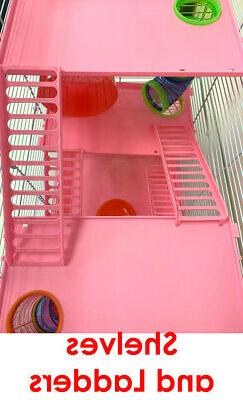 Large Tower Hamster Habitat Rodent Mouse Mice Cage