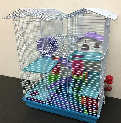 new 5 floor large twin tower hamster