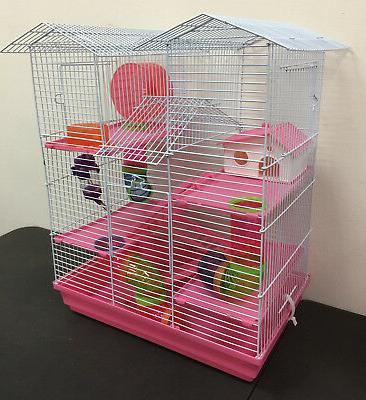 large twin towner syrian hamster habitat rodent