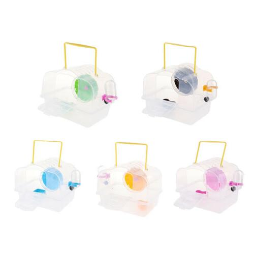 mouse rat hamster portable transport box cage