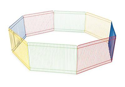 multi color small pet playpen 40090