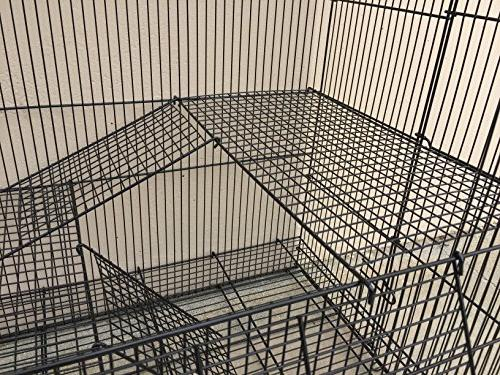 """Mcage New Ferret Rats Animal 1/2"""" Wire Cross and Ladders"""