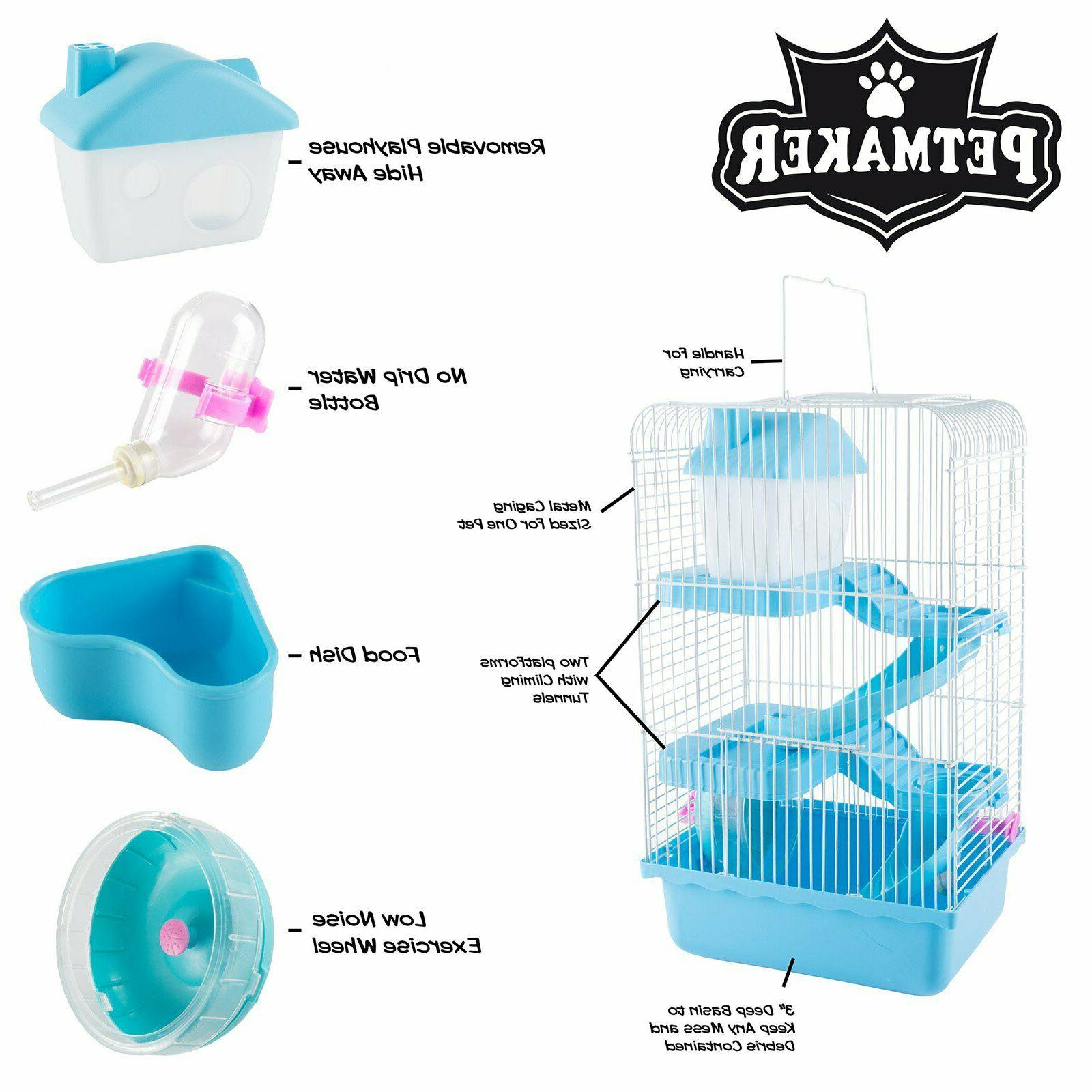 NEW PetMaker 3-Tier Cage or Blue