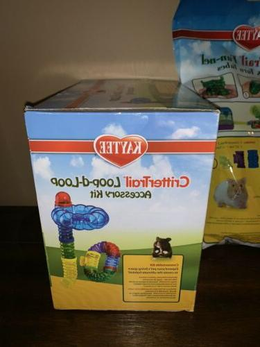 New CritterTrail Accessory Kit & & Turn Tubes Hamsters