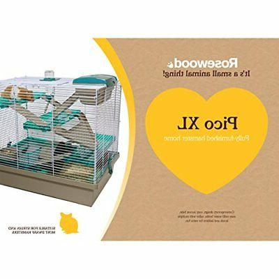 NEW Teal Hamster Animal Home/Cage