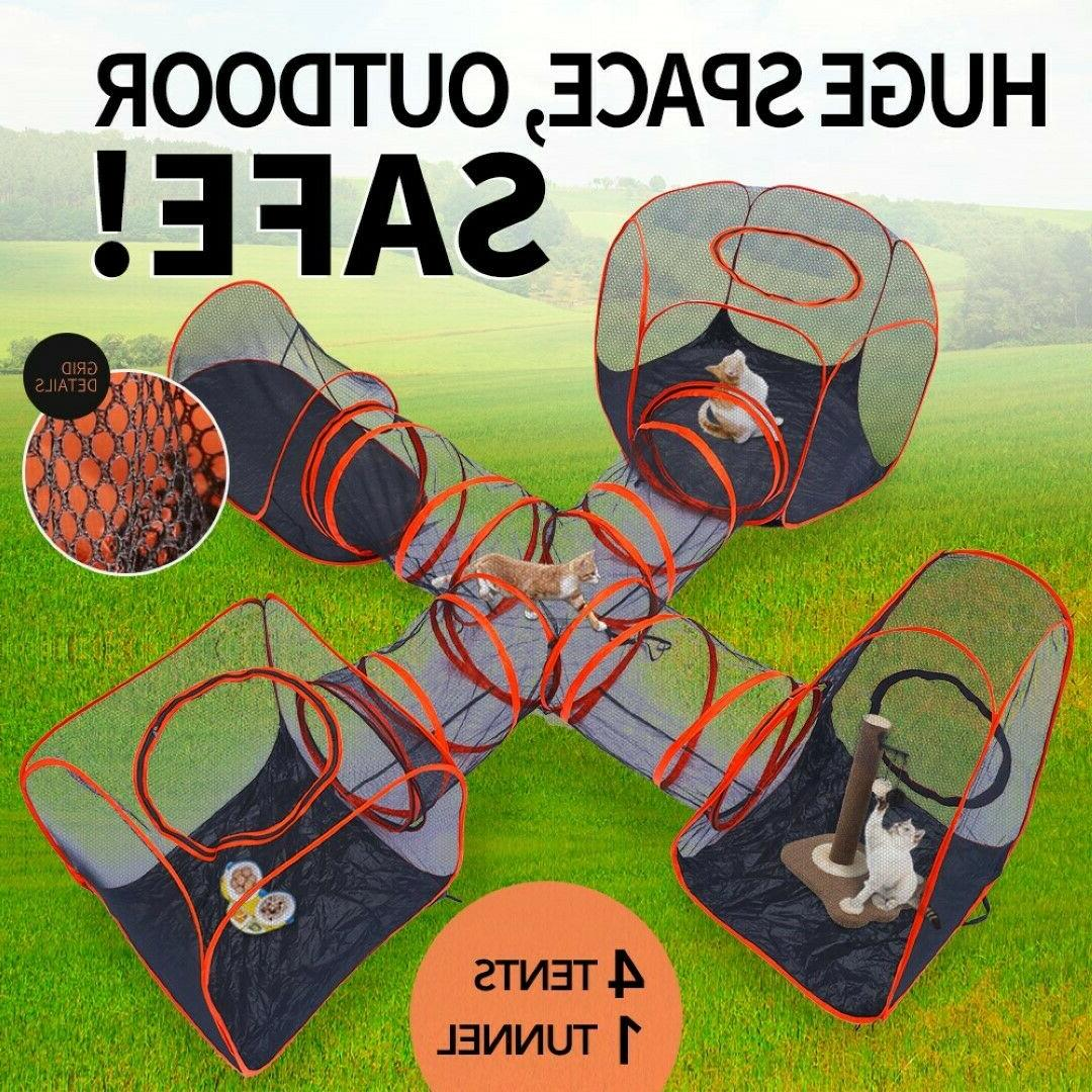 Outdoor kennel dog pet cage crate run