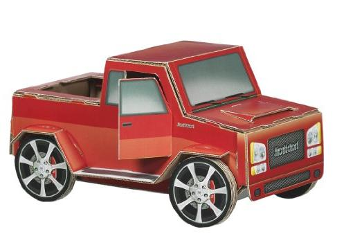 ovo truck carboad hamster maze