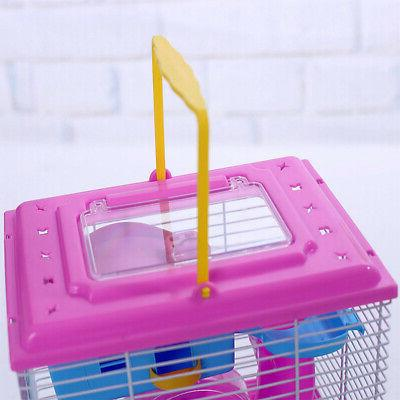 Pet Transparent Layer House Hamster