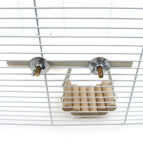 Alfie Couture Swing, Ladder Resting Platform Chinchilla, Gerbil Dwarf