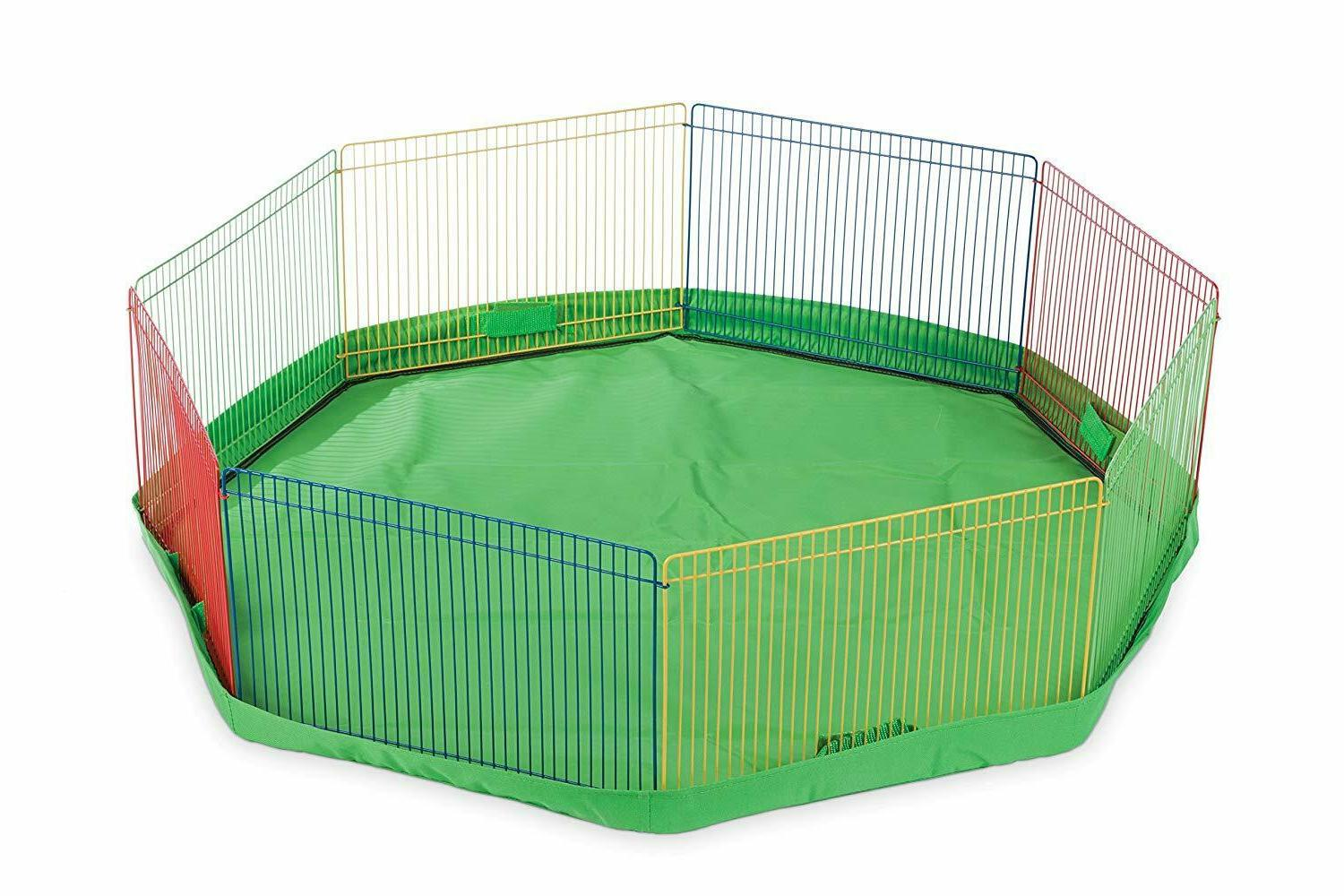 Pet Playpen Small Hamster Fence Cage Exercise Puppy Portable