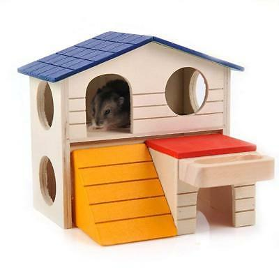 Bwogue Small Animal Hideout Hamster Two Layers Play