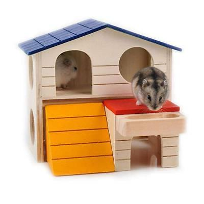 Bwogue Hideout Hamster House Deluxe Two Layers Hut