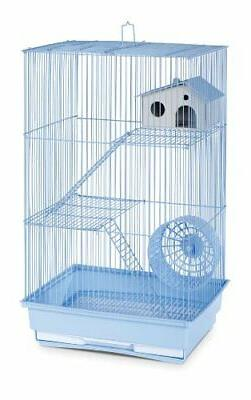 Three Story Hamster and Gerbil Cage - Lite Blue