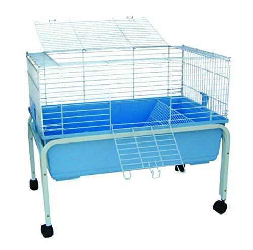 rabbit cage stand