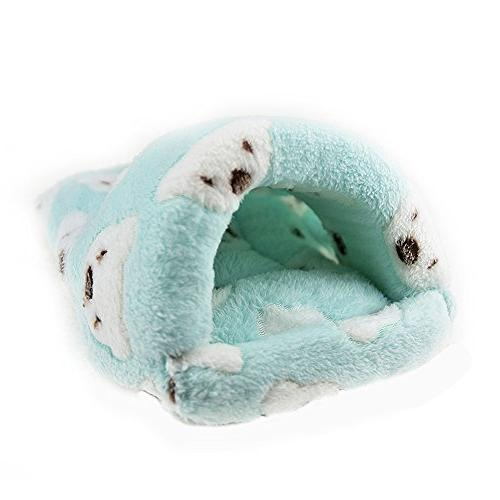 FLAdorepet Rat Hamster Bed Winter Small Pet Chinchilla Rabbit Bed Hamster Accessories