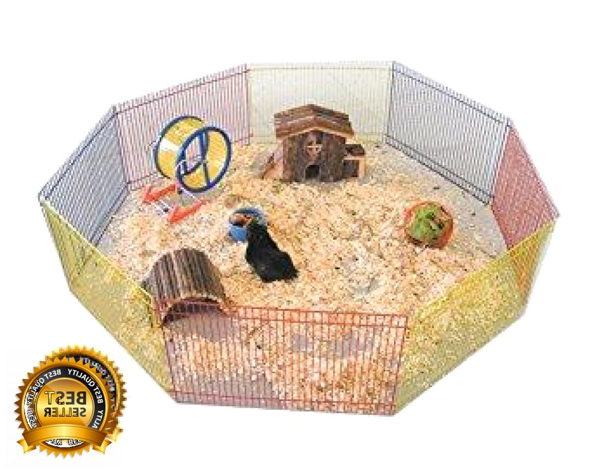 Portable Indoor Outdoor Exercise Play Fence Cage