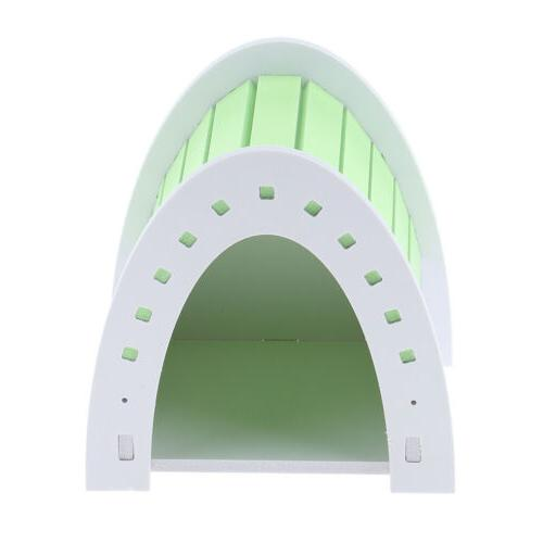 small animal hideout hamster house deluxe single