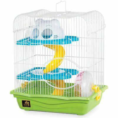small hamster haven green