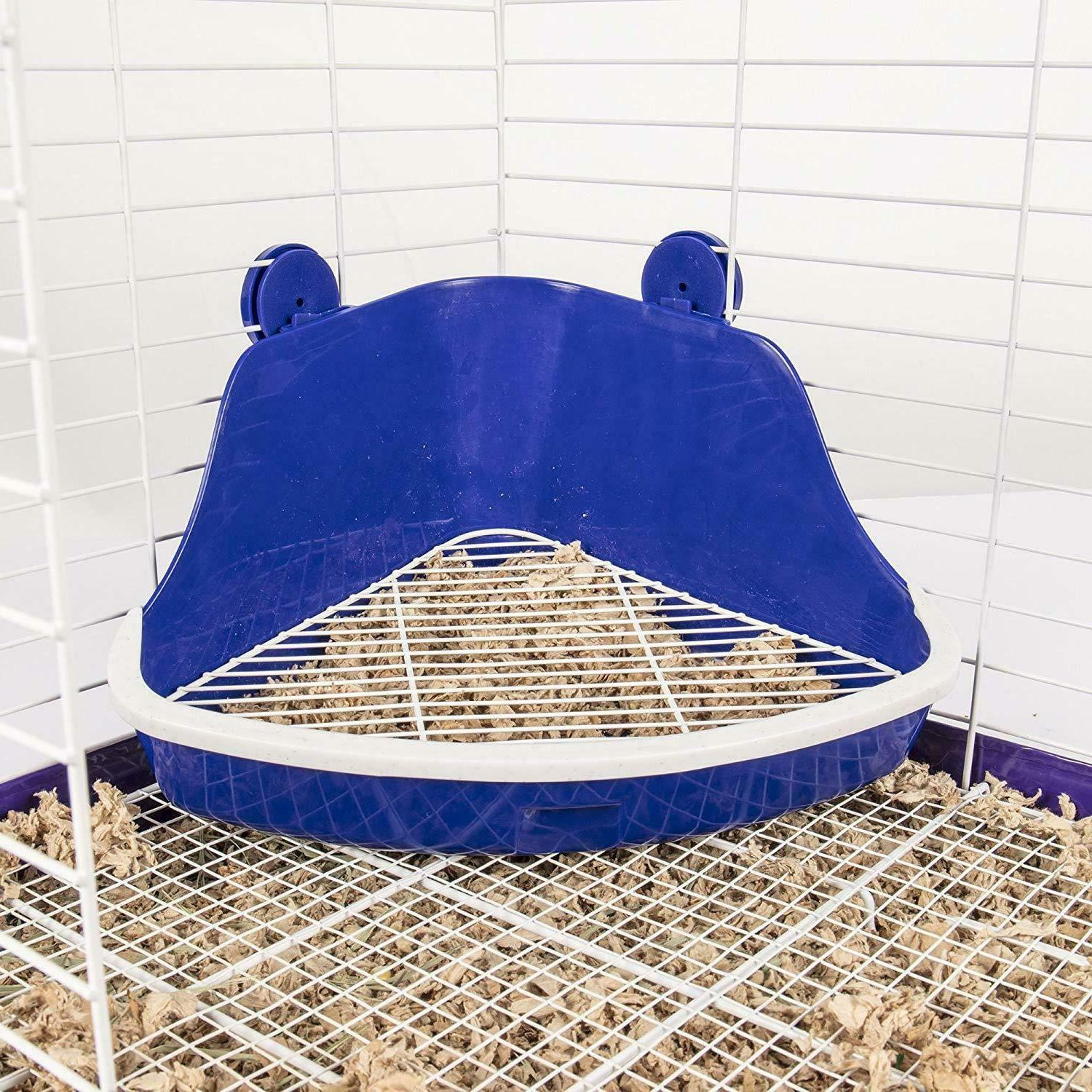 Small Litter For Rabbit Hamster Pet Hutch Pan