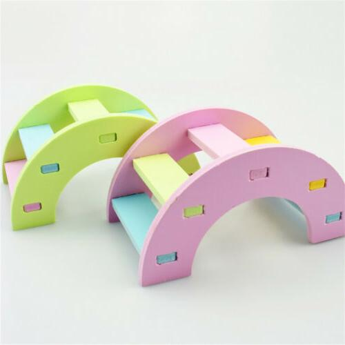 small wooden hamster house hamster rainbows activity