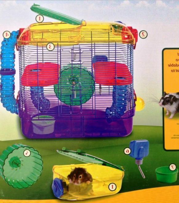 the best hamster cage and habitats big